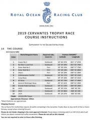 Cervantes course