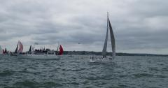 Jelenko passing the wrong side of the ODM bouy at the start