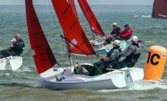 Racing Squibs - but not at Weymouth.