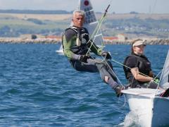 Emma and Tim at Weymouth Regatta