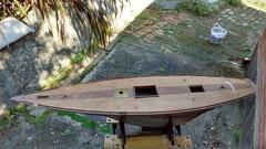 Deck stripped and aft cutout made