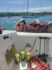 Steve HB in the Recovery Position