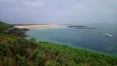 Herm's Shell Beach