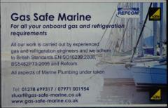 Be gas safe with Gas Safe Marine!