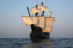 The Nao Victoria, first ship, and first replica ship, to sail around the world