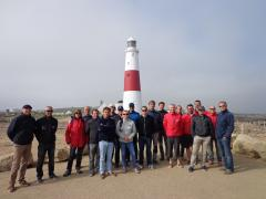 Cherbourg sailors visit the Bill