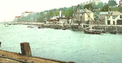 View of WSC with a paddle steamer on the slipway at Hooker's Dock