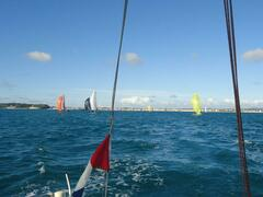 Opening up the downwind leg