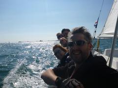 Rumrunner Crew On The Rail - Barts Bash