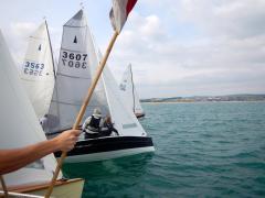 13-09-2014 dinghy 1st race