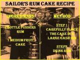 Sailors rum cake recipe
