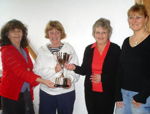 Pitcher Cup presentation
